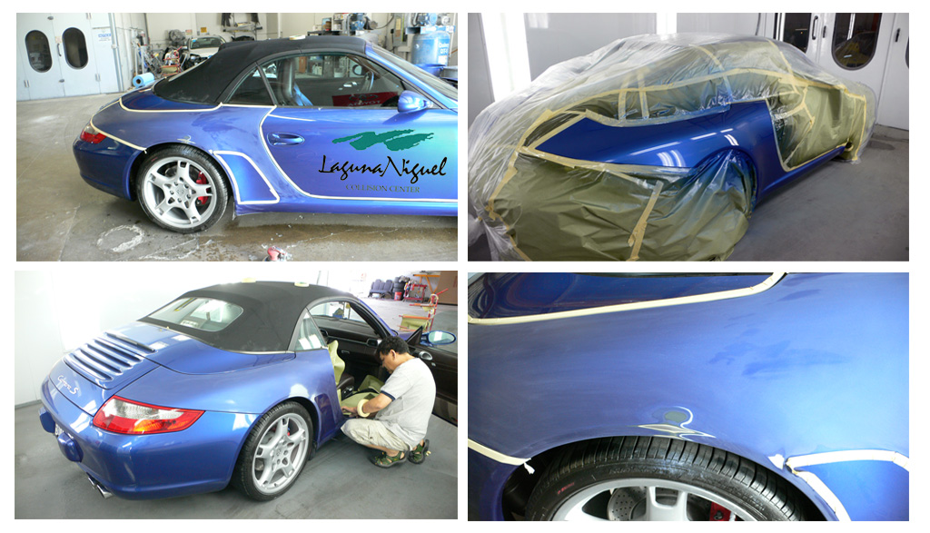 Lnc auto body painting laguna niguel mission viejo for Body paint auto